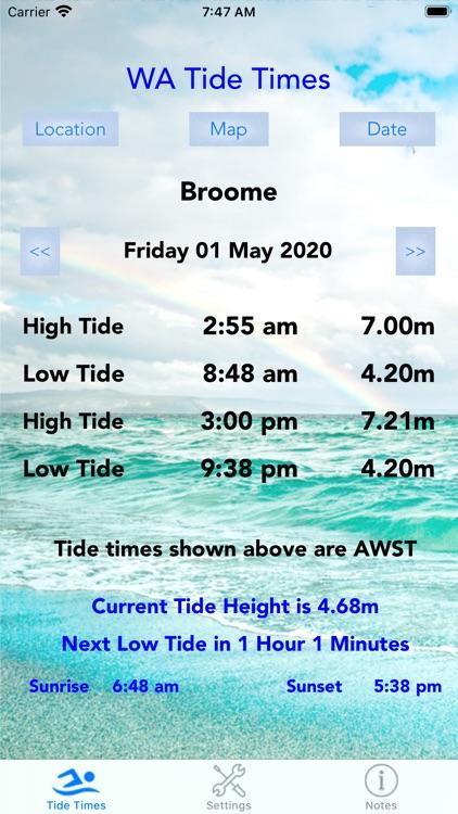 WA Tide Times screenshot-5