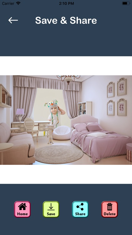 Bedroom Photo Maker - Editor screenshot-9