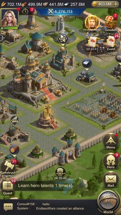 Endless War: Origin free Time hack