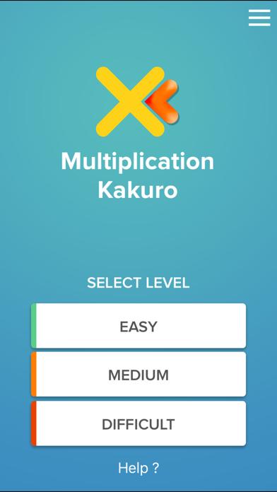 点击获取Multiplication Kakuro puzzle