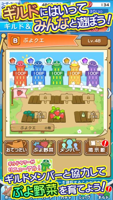 ぷよぷよ!!クエスト -簡単操作で大連鎖。... screenshot1