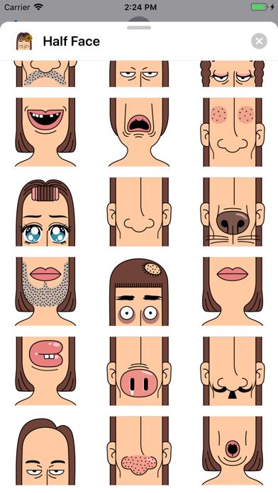 Half - Face screenshot 2