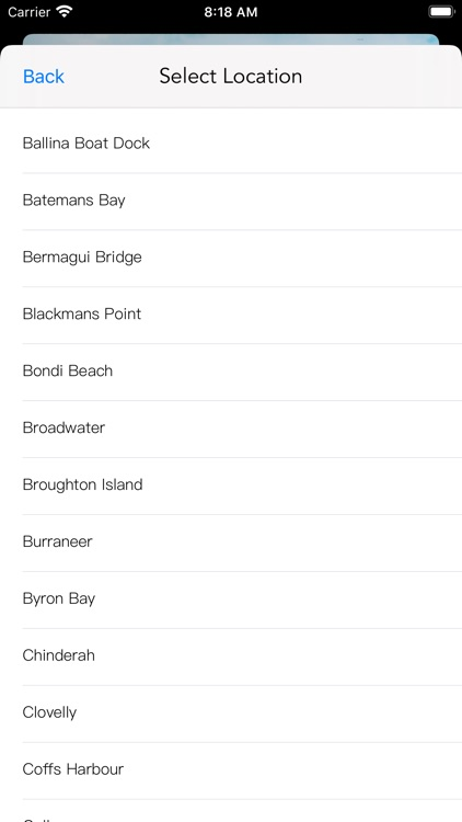 NSW Tide Times screenshot-4