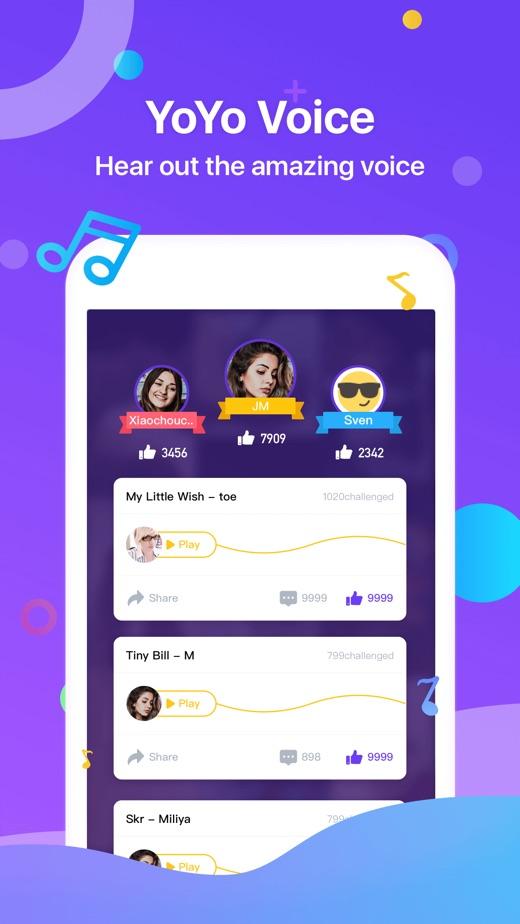 YoYo-Random Live Voice Chat】版本记录- iOS App版本更新记录