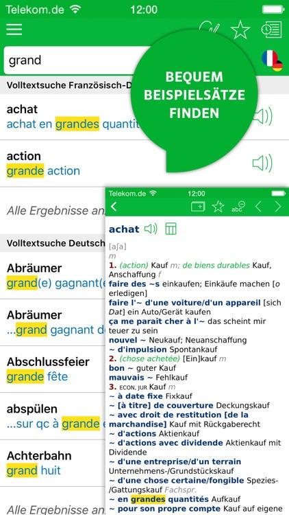 Wörterbuch Französisch