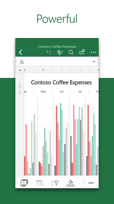 Microsoft Excel app image