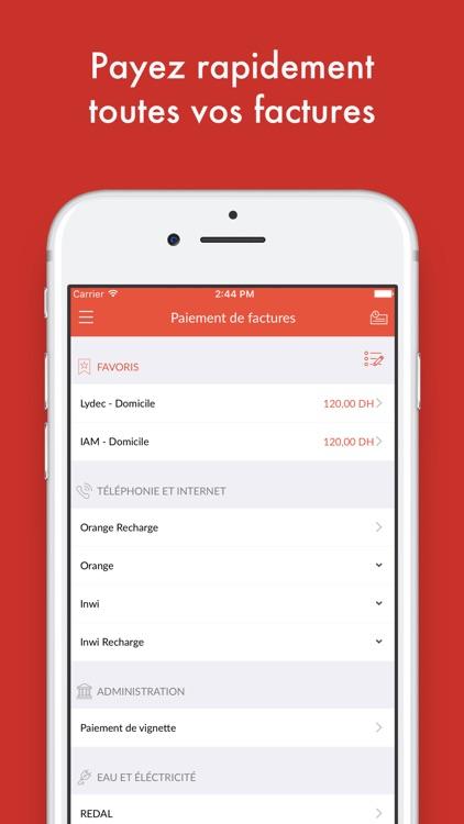 Attijari Mobile screenshot-4