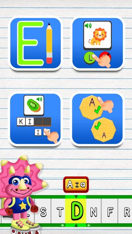 ABC Dinos: Kids learn to read screenshot-7