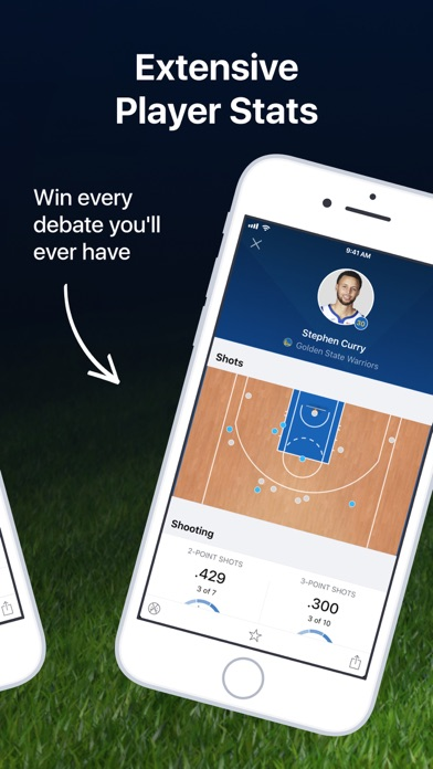 NBA Live: Scores, Stats & News screenshot two