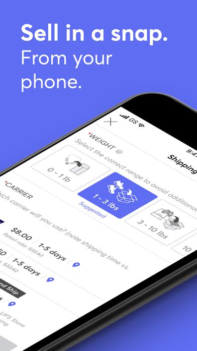 Screenshot for Mercari: The Selling App in United States App Store