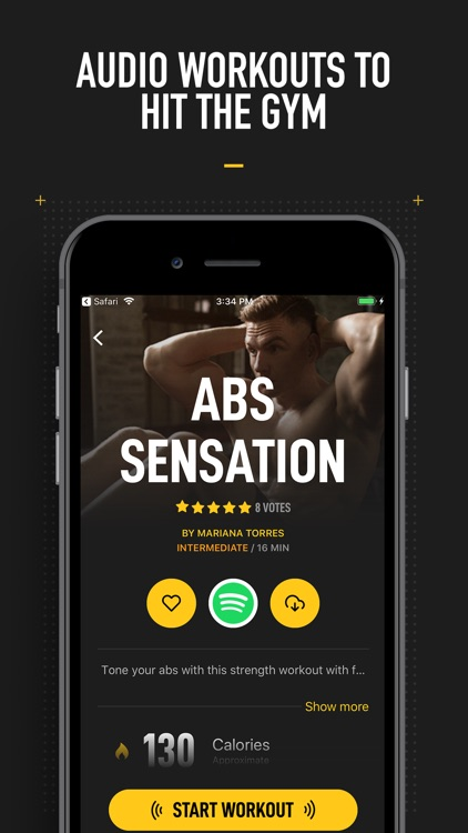 InstaFit Gym: Audio workouts screenshot-4