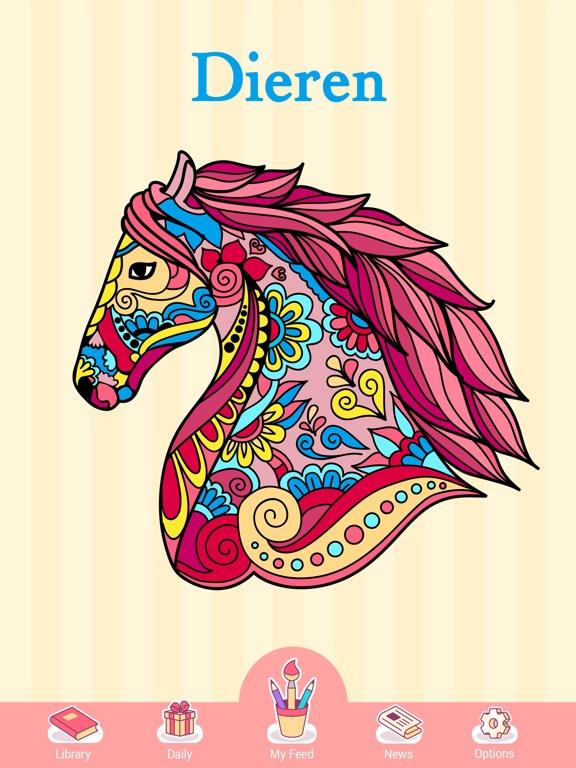 Kleurplaten Inkleuren Op Ipad.Happy Color Kleuren Op Nummer App Voor Iphone Ipad En Ipod Touch