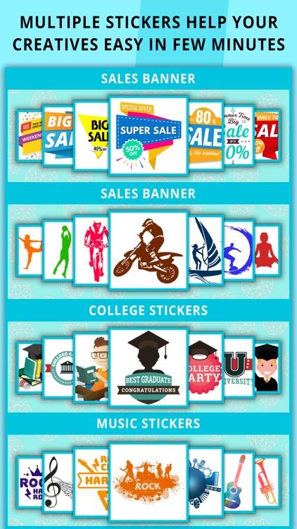 Poster Maker Flyer Maker screenshot-3
