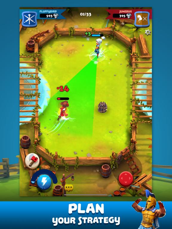 Ipad Screen Shot Knockdown Heroes 6
