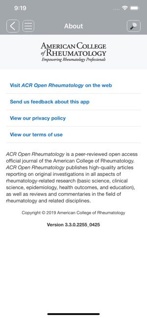 ACR Publications on the App Store