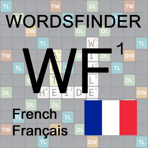 Français Words Finder Wordfeud icon