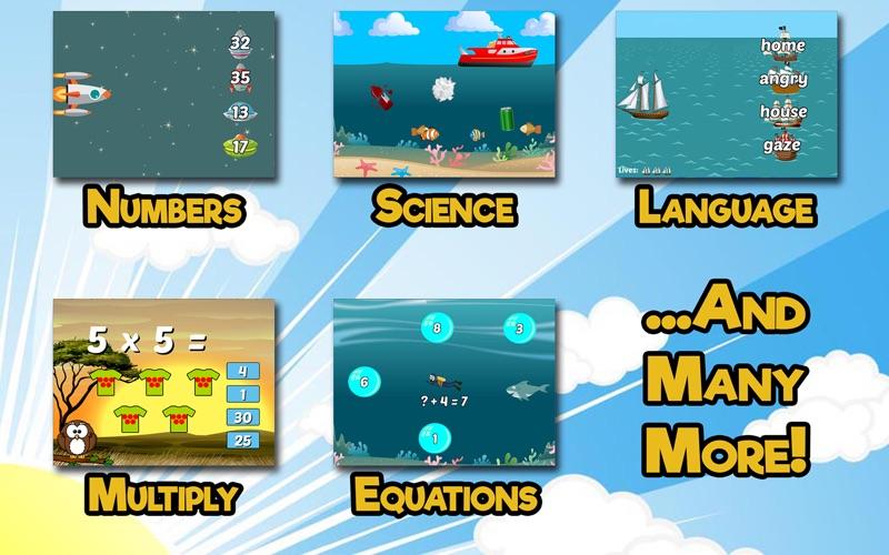 Second Grade Learning Games screenshot 2