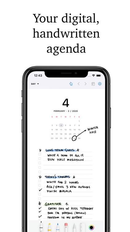 Pencil Planner & Draw Calendar
