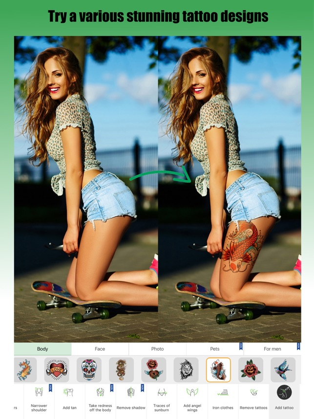 Retouch Me: Body & Face Editor on the App Store