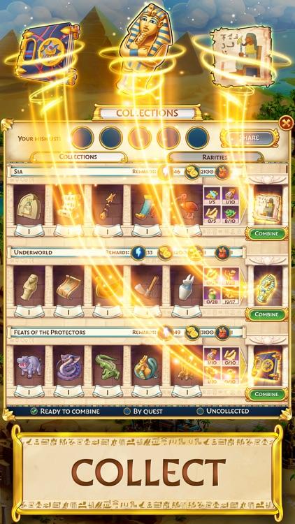 Jewels of Egypt: Match 3 Game screenshot-4