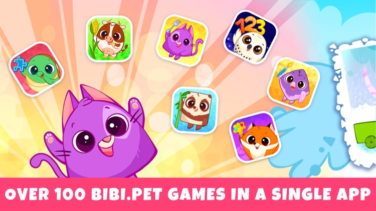 BibiLand Games for Toddlers 2+ screenshot-0