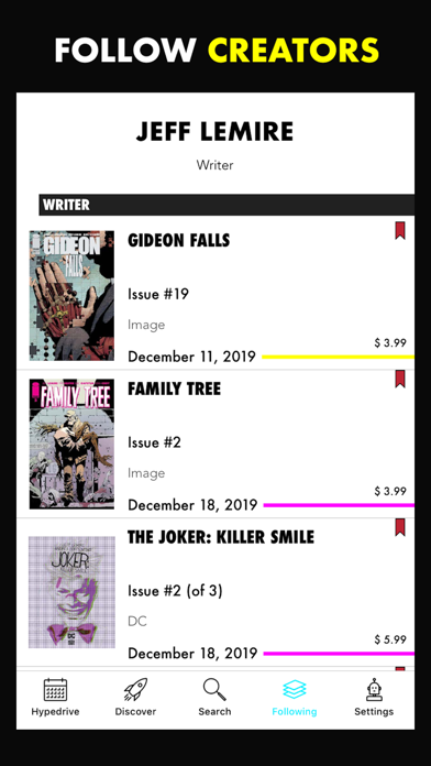Hypedrive: New Comics Guide screenshot four