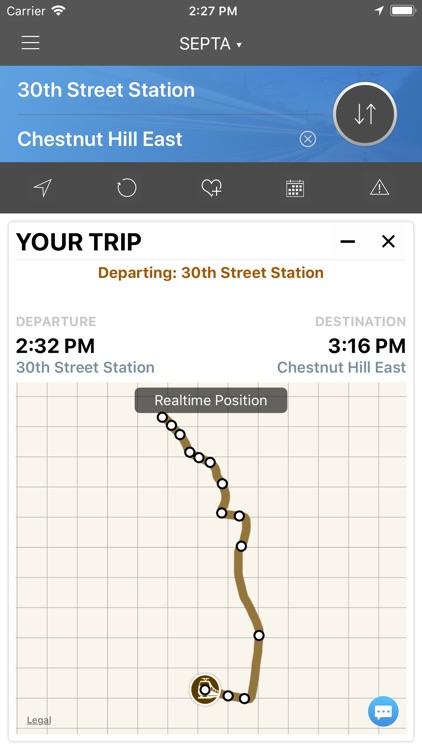 onTime : SEPTA Rail, Bus