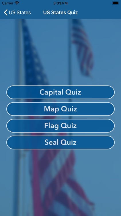 US States Flags Seals Quiz screenshot-3