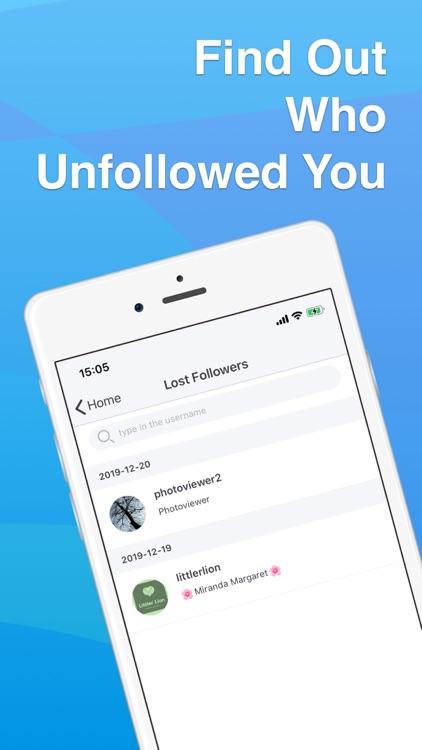 Ig Followers Reports - igRose screenshot-4