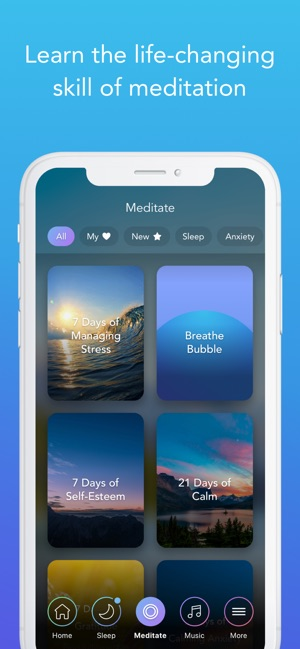 Calm on the App Store
