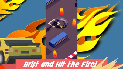 Fire Drift: Drifting Cars Race Screenshot on iOS