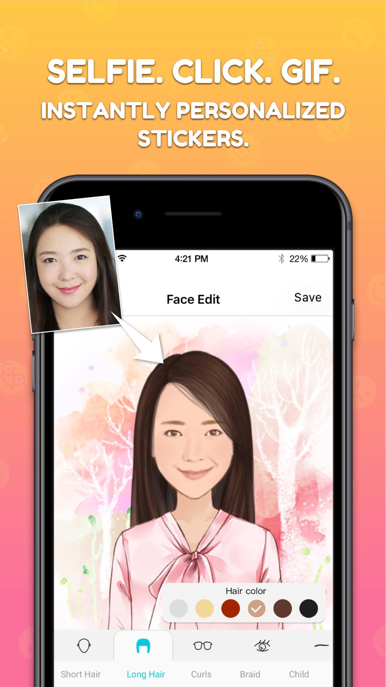 MojiPop: Emoji Avatar Creator Screenshot