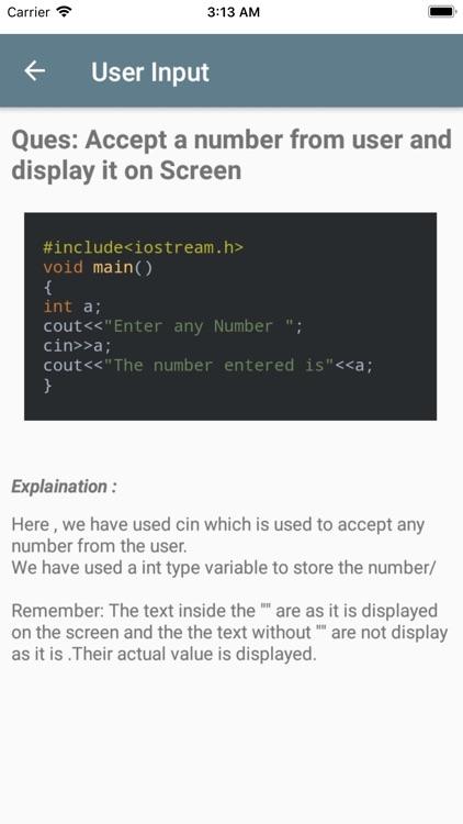 Learn basic C Plus Plus screenshot-8