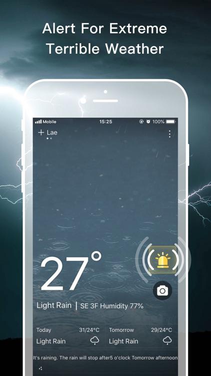 Live Weather Pro-Forecast&Rada screenshot-5