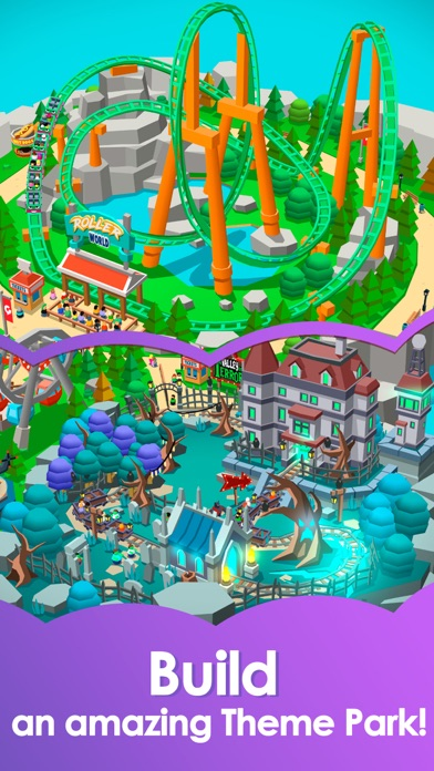 Idle Theme Park - Tycoon Game Screenshot 5