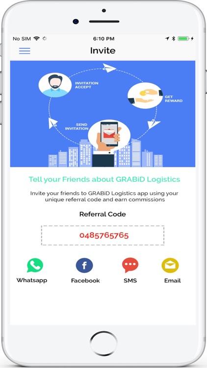 GRABiD Logistics screenshot-3