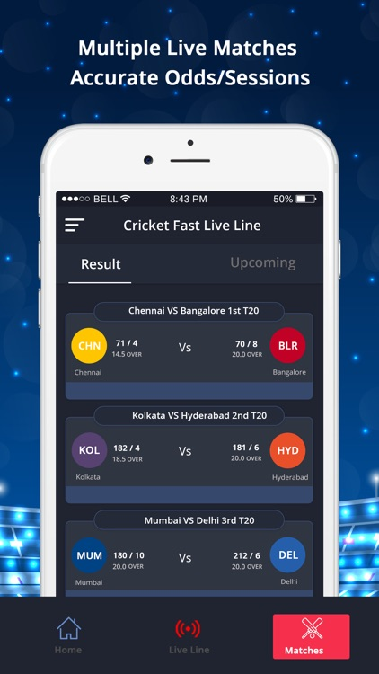LineGuru : Cricket Live Line screenshot-1