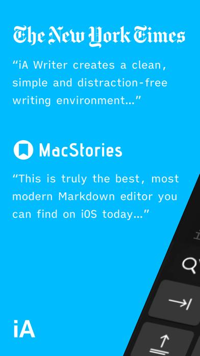 iA Writer Screenshots