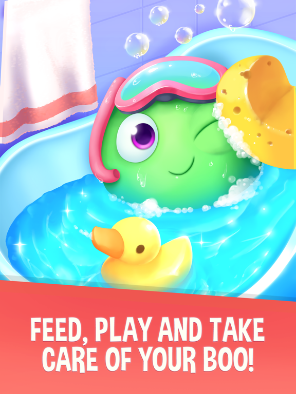 My Boo - Virtual Pet with Mini Games for Kids, Boys and Girls screenshot