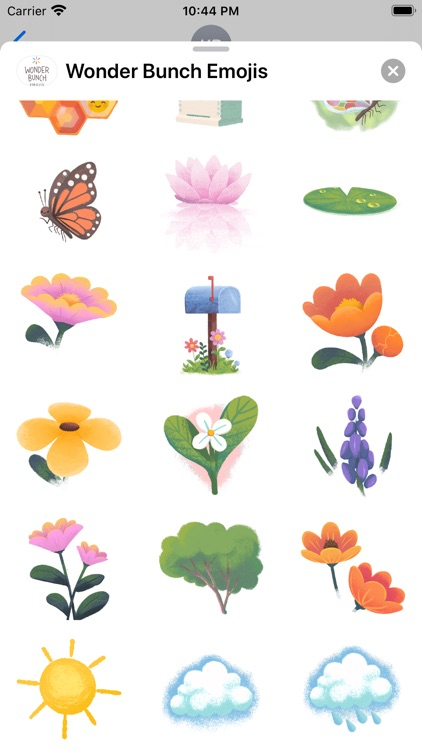 Wonder Bunch Emojis screenshot-8