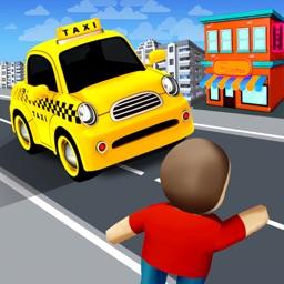 Traffic Taxi Run Game 2019