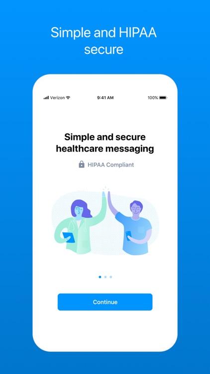 OhMD HIPAA Compliant Texting screenshot-0