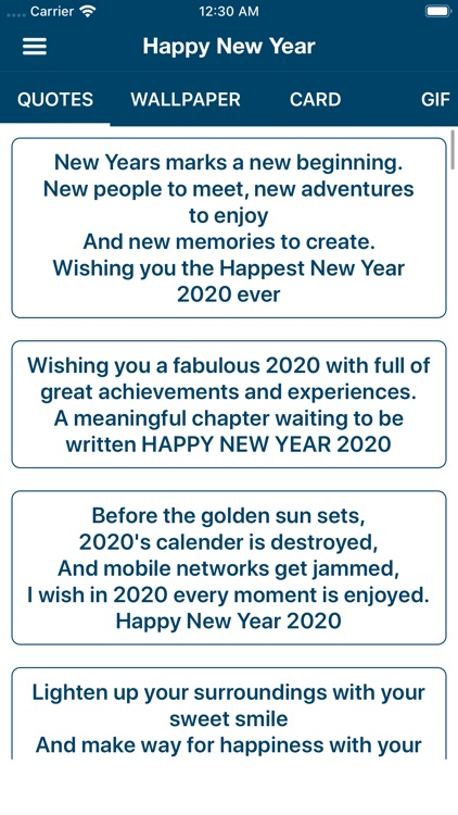 Happy New Year Wishes & Cards screenshot-3