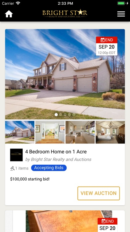 Bright Star Realty and Auction