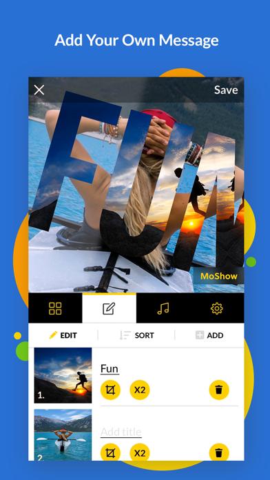 MoShow Slideshow Photo & Video Screenshot
