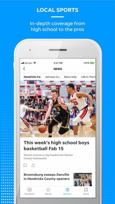 Courier Journal Screenshot on iOS