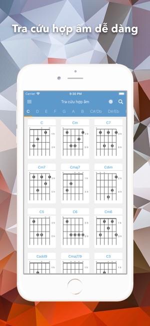 Hợp Âm Chuẩn - Guitar Tabs