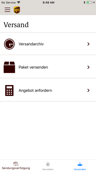 Screenshot for UPS Mobile in Austria App Store