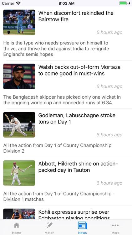 Cricket Live Scores World screenshot-3