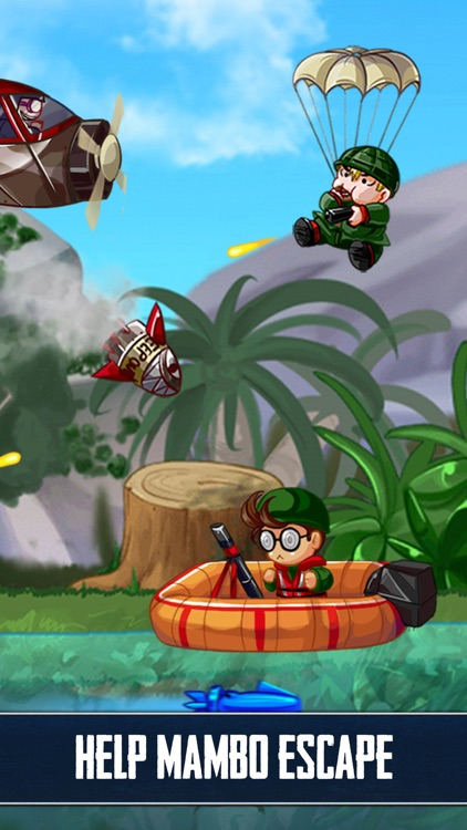 Ramboat: Shooting Offline Game screenshot-1